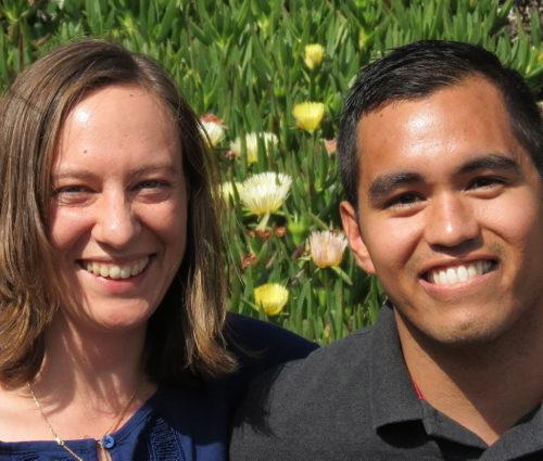 Eric Larios and Angela Shahbazian