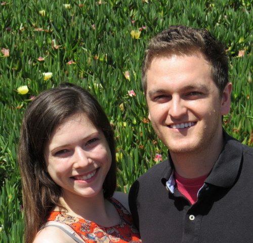 Lauren Frisch and Adam Wandell
