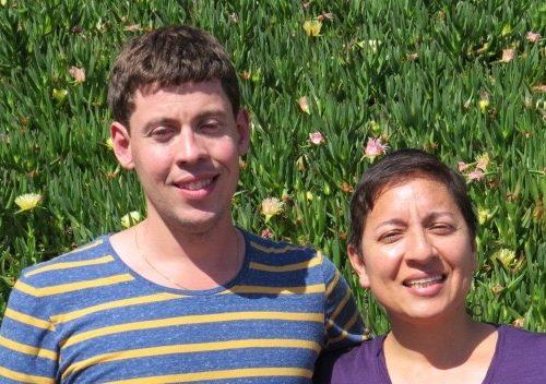 Tyler Fleming and Martha Benitez