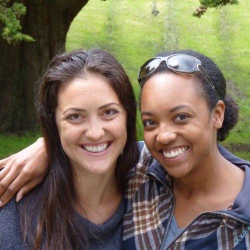 Monica Grova and Brittany Grovey