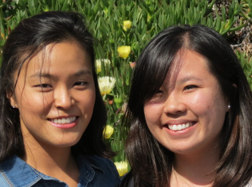 Shannon Lee and Michelle Wong