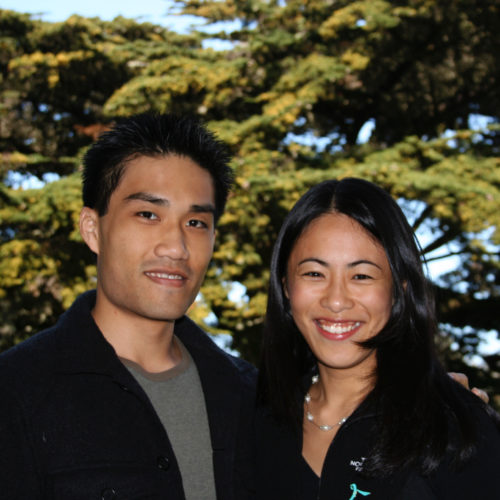 Steven Lin and Elizabeth Chao