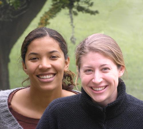 Tirah Samura and Heidi Schmidt