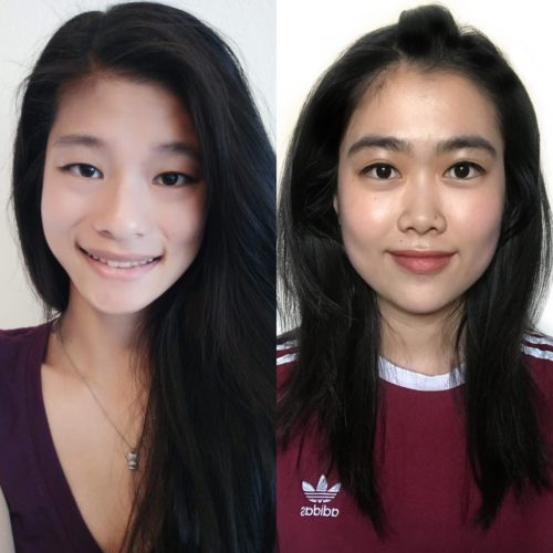 Winny Chang and Cornelia Lin
