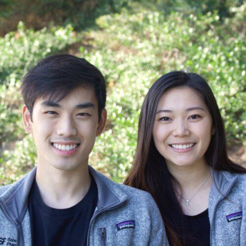 Michael Au and Joanne Wong