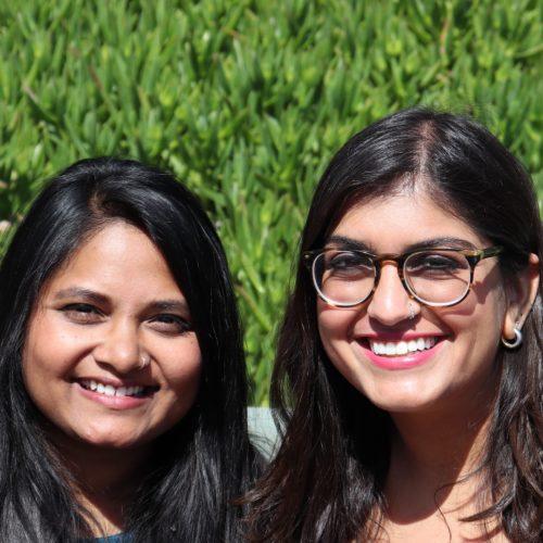 Jessica Mitter Pardo and Shradha Biradar