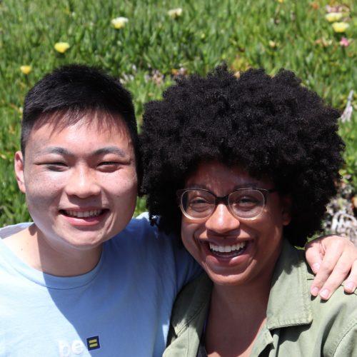 Jar-Yee Liu and Tatyana Roberts