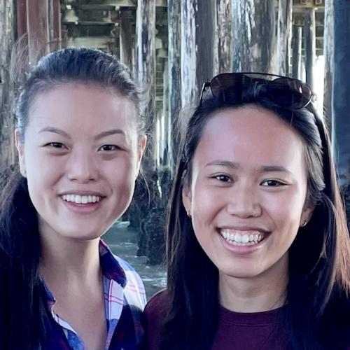 Anna Guo and Stephanie Liu